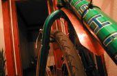 Guardabarros de bicicleta de cobre