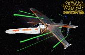 Star Wars Ornithopter / lazo del X-Wing vs luchador