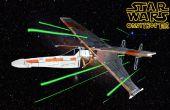 Star Wars Ornithopter / lazo del X-Wing vs luchador