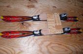 Tope placa (trineo con esquís)