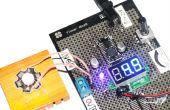 Construir el convertidor DC-DC ajustable en Flowerpad Protoboard
