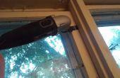Arreglo para puerta de madera cerrada/abierta o ventana