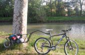 Acoplado de la bici de una sola rueda