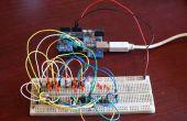 Control de 20 Led de 5 pines de Arduino usando Charlieplexing