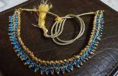 Kundan - 2$ azul el collar!