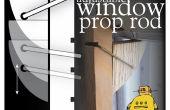 Varilla de ventana ajustable Prop