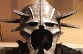 Cómo hacer una máscara de armadura