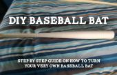Convirtiendo su bate de béisbol propio