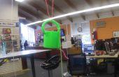 3D impreso paracaídas gota cubo