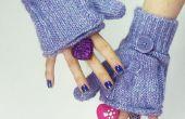 Cómo hacer Glittens (guantes-mitones sin dedos)