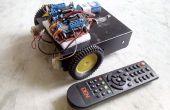 Siéntase como un control remoto de TV controlados Arduino Robot!