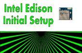 Intel Edison - Config inicial