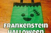 Conducto de cinta Frankenstein Halloween bolsa