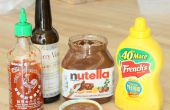 Salsa de barbacoa de Nutella