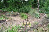 Construir una valla de jardín natural (para nada!)