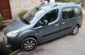 Cómo organizar el espacio en Peugeot Partner Tepee de dormir