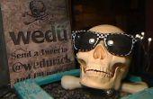 Yorick, un Twitter narrando hablando cráneo