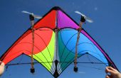 Cometa con LEDs Wind-Powered