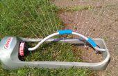 Control de pulverización césped riego