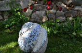 Cómo hacer una escultura de jardín