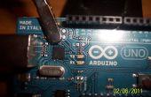 Quitar el LED de la placa Arduino!