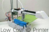Impresora 3D 1.0 - una impresora 3D de código abierto asequible de borde!