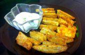 Al horno fritas de camote crujiente