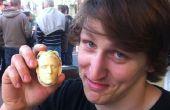 Jefes realistas Chocolate de impresiones 3D