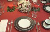 Cómo establecer una mesa de cena Formal