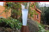 Zeo botella flauta vidrio