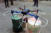 Lata de aerosol Quadcopter Mod