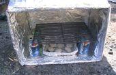 Hacer un horno de caja lo que Girl Scouts