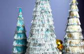 Árboles de Navidad de Fringe son divertidas y fáciles de hacer