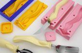 Creación de mangos de la herramienta 3D de impresión y fundición