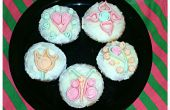 Quilled Fondant Cupcakes