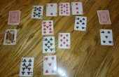 Juego de cartas de estrategia de guerra.