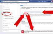 Como privilegios de administrador de subvención a una página de Facebook personalizado