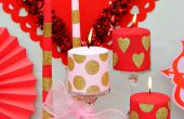 Cambios de imagen de la vela para el día de San Valentín