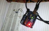 Valores analógicos de lectura de la LDR con Arduino