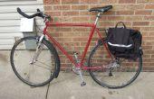 Bicicleta de las defensas de neumáticos reciclados de bicicleta