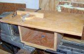 Banco Sierra de mesa para un torno de madera