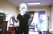 Aumentada de la realidad y Kinect: aumentar el cráneo y la máscara de hierro el hombre