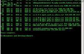 Encontrar la dirección IP de un sitio web utilizando el símbolo del sistema