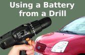 Poner en marcha su coche con la batería del taladro