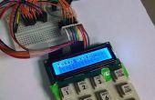 """Reproducir el texto de la """"Vieja escuela"""" con un Arduino, un teclado numérico 4 x 4 y una 16 x 2 LCD"""