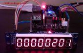 MAX7219 - controlador del módulo de exhibición de LED de 8 dígitos para ESP8266