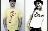 El Tee texturizado: un Tutorial DIY camiseta adorno