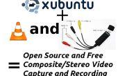EasyCap DC60 (STK1160) VLC + Xubuntu 13.10 = captura de OpenSource Video!!