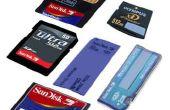 Cómo hacer copias de seguridad tarjetas de memoria sin un equipo