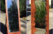 Espejo madera imitación borde directo